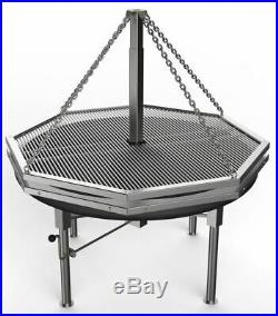 1.4m Large Stainless Grill. German and Christmas Market catering. BBQ