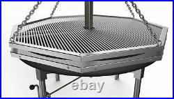 1.4m Large Swing Grills. German and Christmas Market catering. BBQ Barbecue
