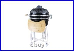 21 Bbq-bits Kamado Bbq Grill Smoker Ceramic Egg Charcoal Cooking Oven Outdoors