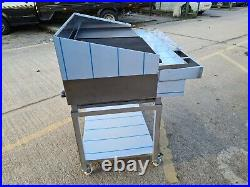 4 Burner Gas Charcoal Bbq Grill / Peri Peri Grill Heavy Duty For Commercial Use