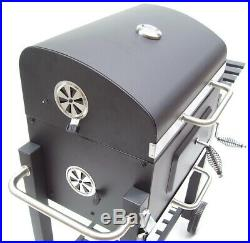 56511 Charcoal BBQ Grill Barbecue Smoker Grate Garden Portable Outdoor Party