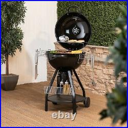 57cm Kettle BBQ Charcoal Grill with Cover and Accessories from Fire Mountain