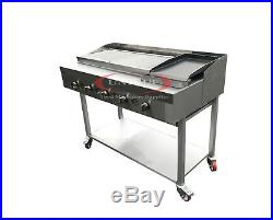 5 Burner Gas Charcoal Bbq Grill / Char-grill Heavy Duty For Commercial Use