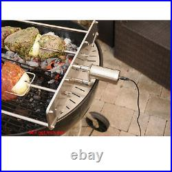 7 Skewer Rotating Rotisserie Set for 22 Round Weber Kettle BBQ Charcoal Grill
