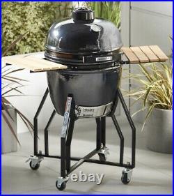 Aldi Gardenline Kamado Ceramic Egg BBQ Grill Smoker Outdoor Oven NEW UNUSED