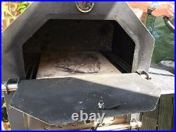 Aldi Gardenline Pizza Oven Wood or Charcoal BBQ Grill Smoker VGC