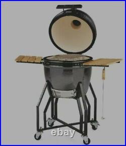 Aldi Kamado Ceramic Egg BBQ Grill Smoker Brand New