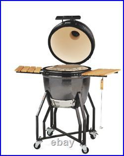 Aldi Kamado Ceramic Egg BBQ Grill Smoker In Hand Ready to Ship
