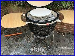 Auplex 23 Kamado Bbq Charcoal Grill/smoker Pizza Oven Collection Only Swanley