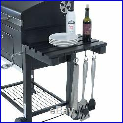 Azuma Charcoal Barbecue Rhino High Quality Steel Outdoor BBQ Grill With Wheels