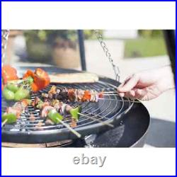 BBGRILL Tripod Grill Black 172cm BBQ Outdoor Standing Barbecue Part Cooker