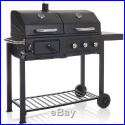 BBQ Charcoal American style Gas Grill Dual Fuel Ultimate Barbecue outdoor Garden