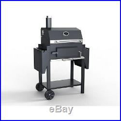 BBQ Charcoal Grill Barbecue Smoker American Style Garden Portable Outdoor