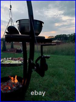 BBQ GRILL Swing Grill