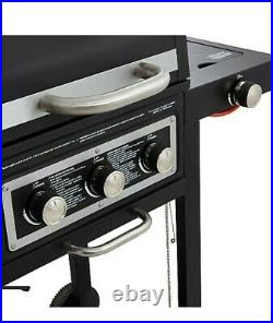 BBQ Grill Outdoor Barbecue DUO Gas Grill + Portable BBQ 100% Quality