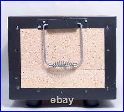 BQ8F Tabletop BBQ Diatomite Charcoal Grill Barbecue Hibachi Stove 12x9x8 inches