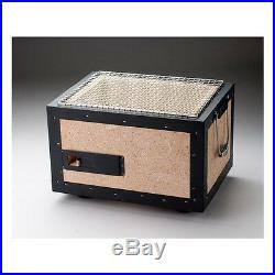 BQ-8F BBQ Diatomite Charcoal Grill Barbecue Hibachi Konro 31 x 23 cm F/S JAPAN