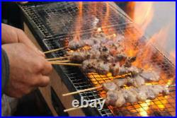 BQ-8T BBQ Diatomite Charcoal Grill Barbecue Hibachi Konro 77 x 23 cm F/S JAPAN