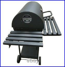 Barbecue BBQ Outdoor Charcoal Smoker Portable Grill Garden 123 x 64 x 102