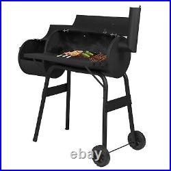 Barbecue Grill BBQ Outdoor Charcoal Smoker Portable Grill Garden Camping Picnic