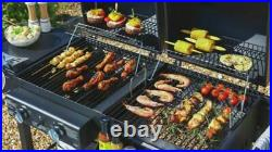 Bbq Dual Fuel Charcoal & Gas 2 burner Barbecue Garden Grill COLLECT ONLY CW1