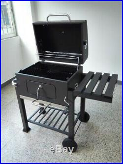 Bbq Grill Charcoal Grey Portable Outdoor Party Food Cooking Barbecue Stove