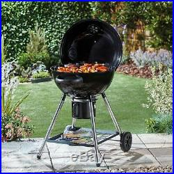 Blazebox 21 Charcoal Kettle Barbecue Grill Portable Pizza Oven Garden BBQ NEW