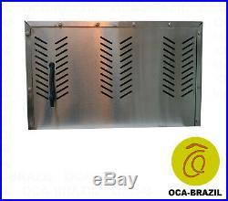 Brazilian BBQ Charcoal Grill 07 Skewers Rotisserie System Oca-Brazil