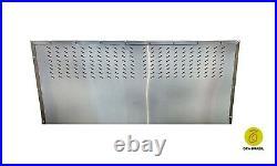 Brazilian Bbq Charcoal Grill Rotisserie Box 15 Skewers Professional Grade