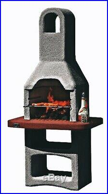 Built In Grill & Oven Brick Stone BBQ DIY Kit Outdoor Barbecue Garden READ NOTE