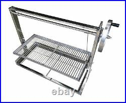 Built in Brick BBQ DIY Grill Adjustable Heights 112cm Seconds WAS £379.99