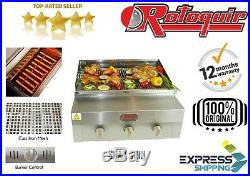COMMERCIAL CHARGRILL + bbq grill + CHARCOAL GRILL + FLAME KEBAB GRILL GRILLER