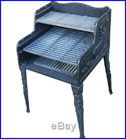 Cast Iron BBQ Grill Grate Barbecue Charcoal Grill Outdoor
