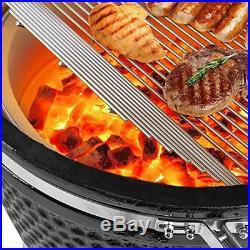 Ceramic Kamado BBQ Grill, Charcoal Smoker Oven 21
