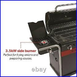 Char-Broil Gas2Coal 440 Dual Fuel BBQ 4 Burner Gas & Charcoal Grill