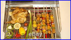 Char Grill BBQ Grill Charcoal Contact Grill Flame Grill Kebab Burger Steak Fish