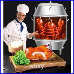 Charcoal Chicken Duck Roaster Grill Oven Cooker BBQ Roast Turkey Kitchen Baking