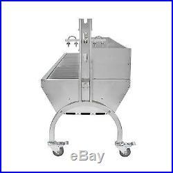Charcoal Hog Roast Roasting Machine BBQ Spit Roaster Rotisserie Grill Steel 90kg