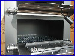 Charcoal Pizza Oven / Grill Outdoor Garden Chimney BBQ Smoker Fish Meat NEW