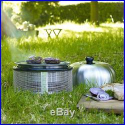 Cobb Premier Charcoal Barbecue Grill and Briquettes Bundle