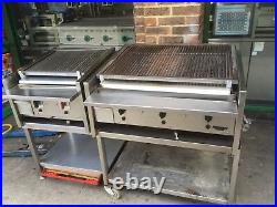 Commercial Catering Equipment Archway Gas Charcoal Lava Stone Bbq Kebab Grill