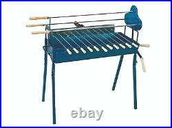 Cypriot Charcoal Rotisserie Barbecue Grill Traditional Foukou BBQ Set & Motor