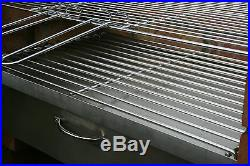 DIY Brick Charcoal BBQ & Cupboard Stainless Steel Grill