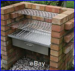 Charcoal Bbq Grill Diy Brick