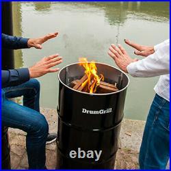 DrumGrill BBQ Grill Large