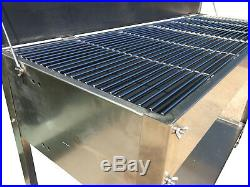 Extra Large Stainless Steel Charcoal Catering Commercial Bbq Grill