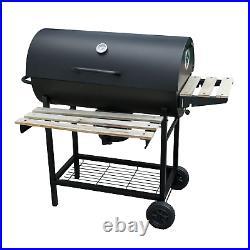 Garden Outdoor Classic Bbq Smoker Grill Black Portable Folding Patio
