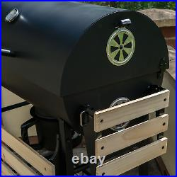 Garden Outdoor Classic Bbq With Tool Set Grill Black Portable Folding Patio