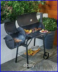 Gardenline ALDI Steel Smoker BBQ Drum 2 Grills Outdoor Brand New Free P&P