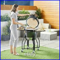 Gardenline Kamado Ceramic Egg BBQ Grill Smoker Brand New & Sealed Confirmed